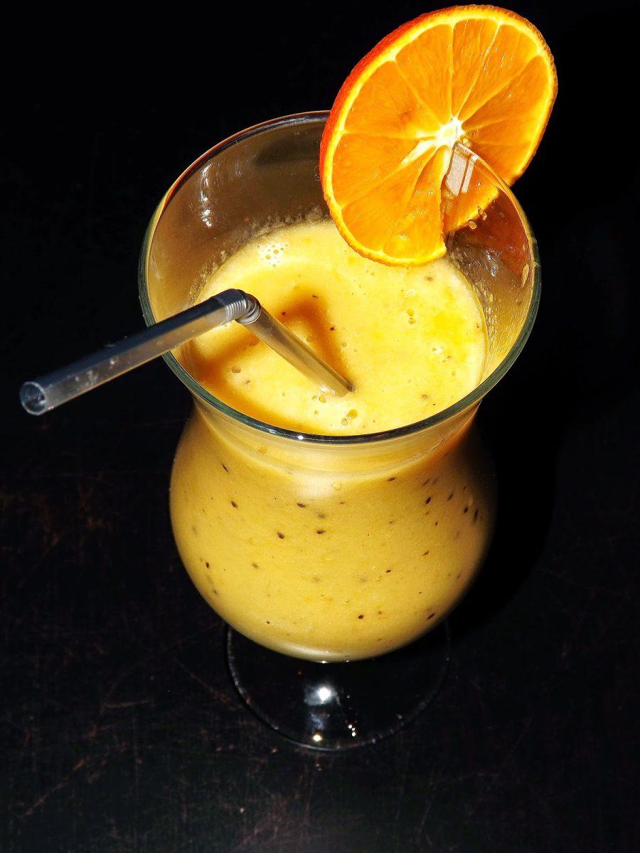 Sok z mandarynek, bananów, kiwi czyli bomba zdrowia i energii