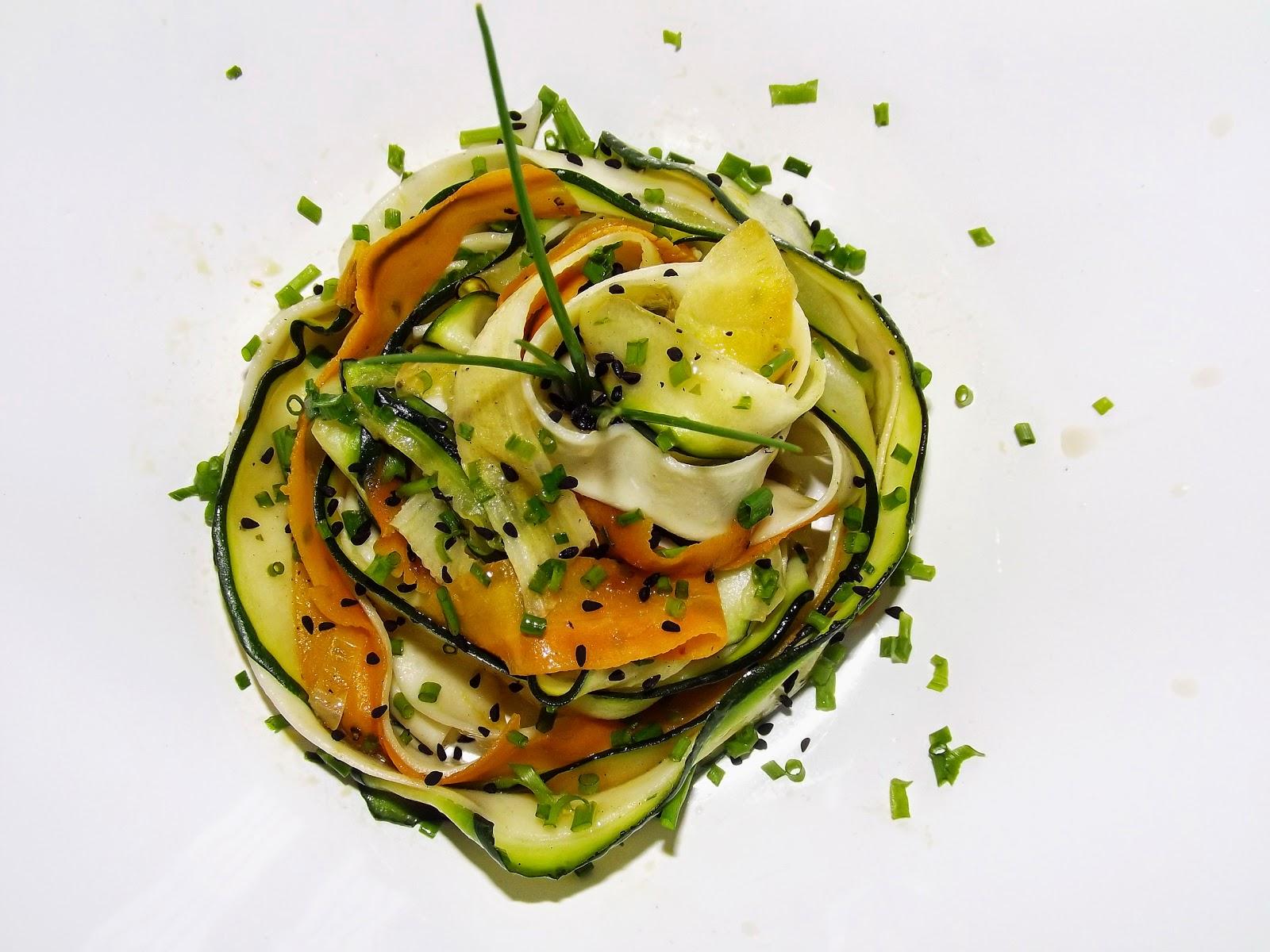Pappardelle z warzywami