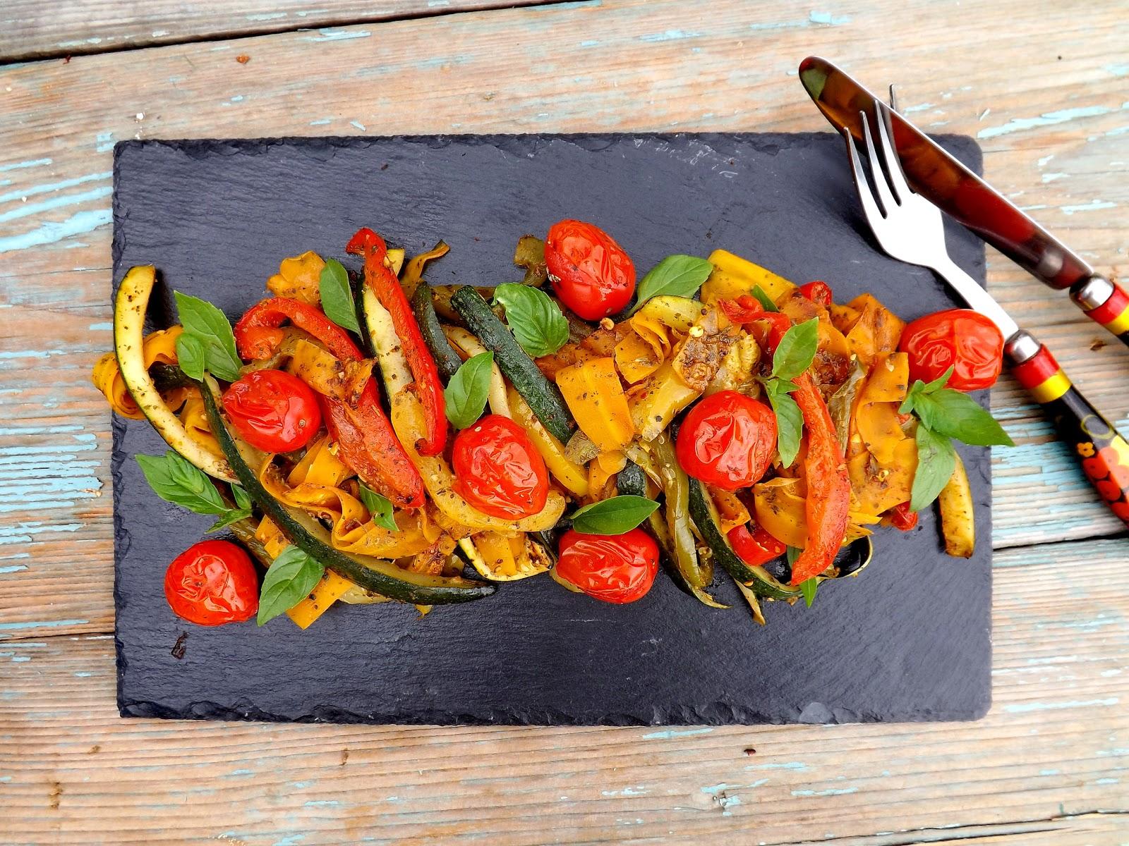 Ziołowe grillowane warzywa