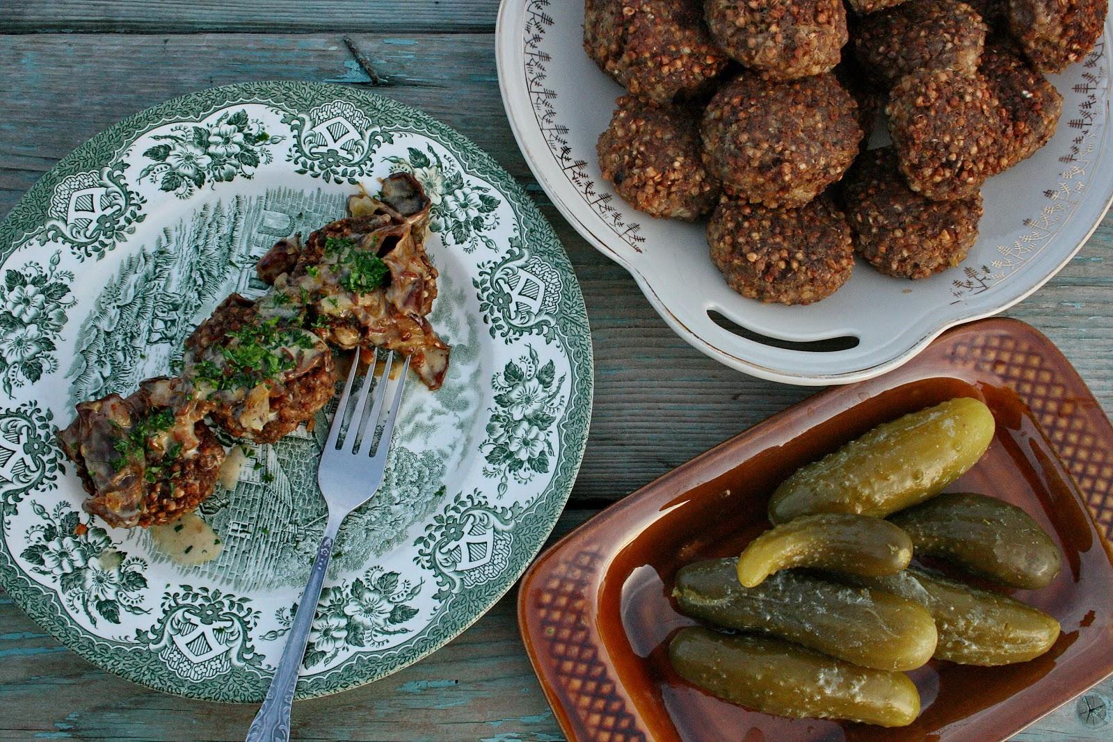 Hreczanyki, czyli mielone z kaszą gryczaną – kuchnia regionalna