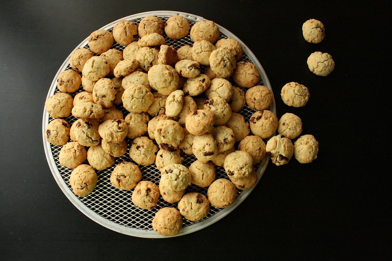 Daktylowe ciasteczka owsiane