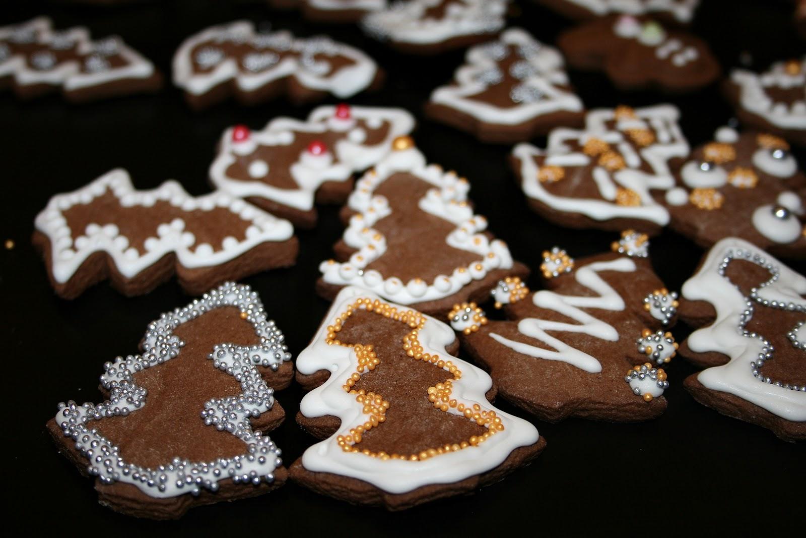 Świąteczne ciasteczka kakaowe