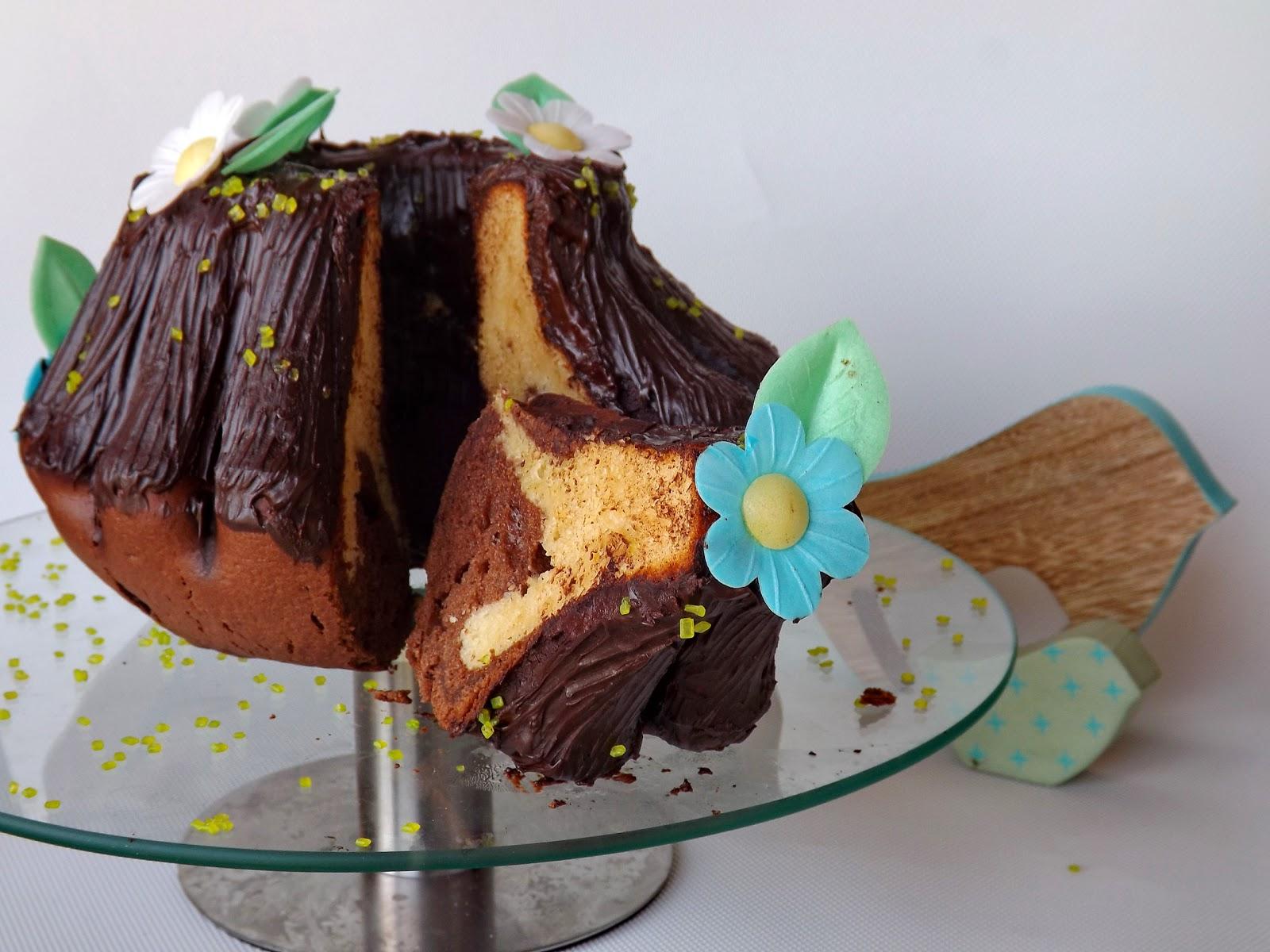 Wielkanocna baba trzcinowo kakaowa na oleju rzepakowym