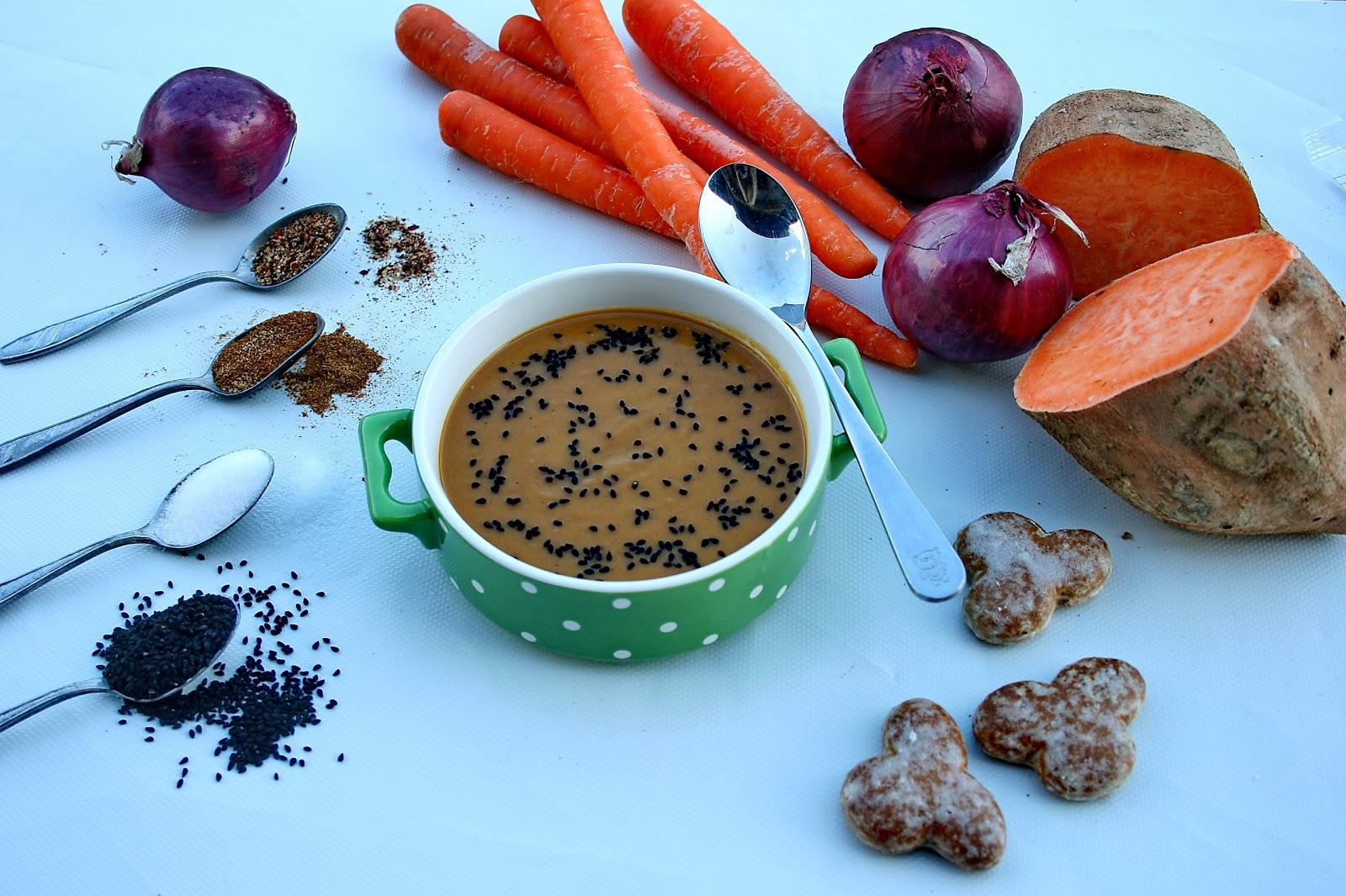 ZUPA – Krem warzywno piernikowy na ostro