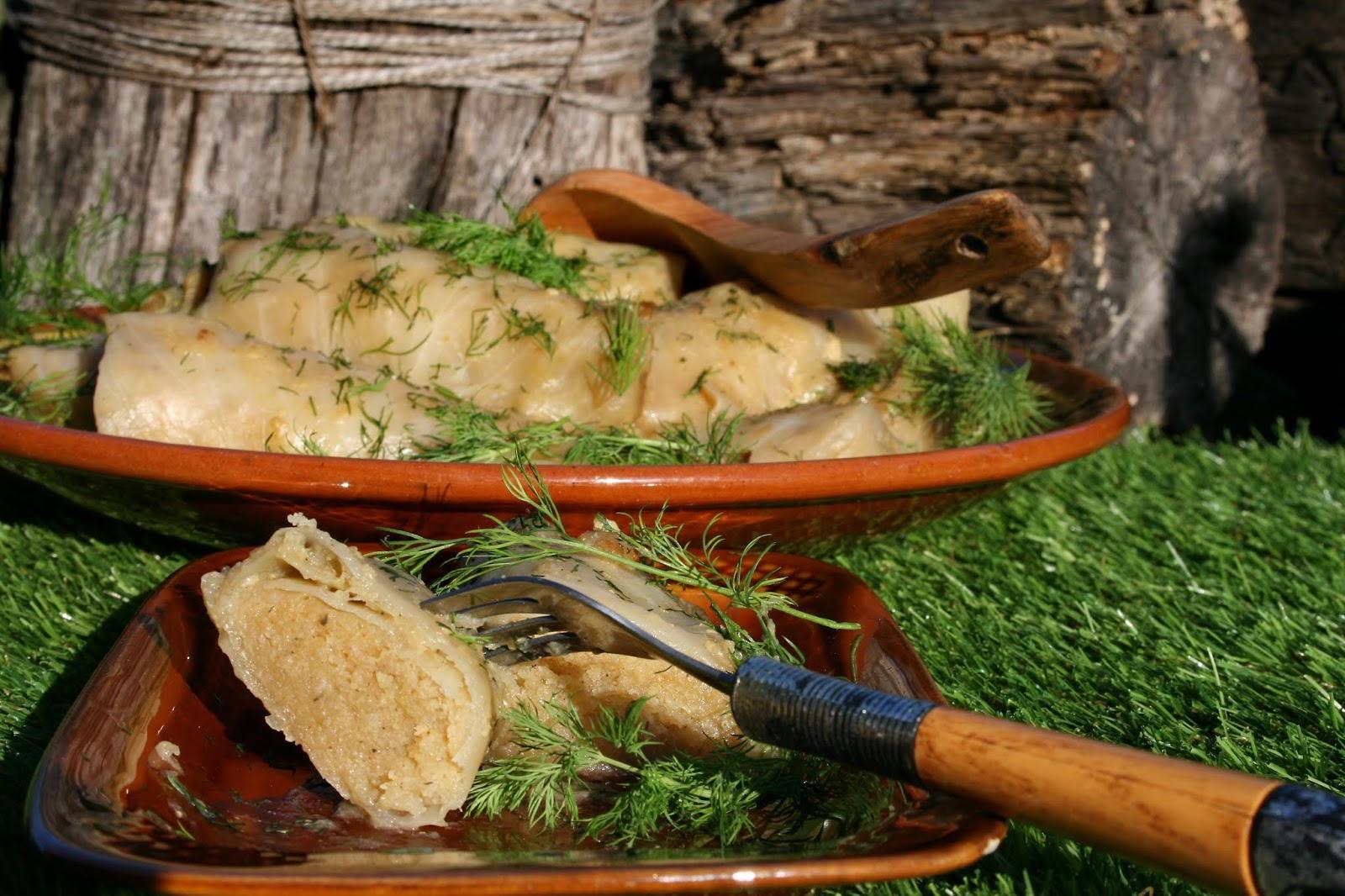Gołąbki z ziemniakami – tradycja