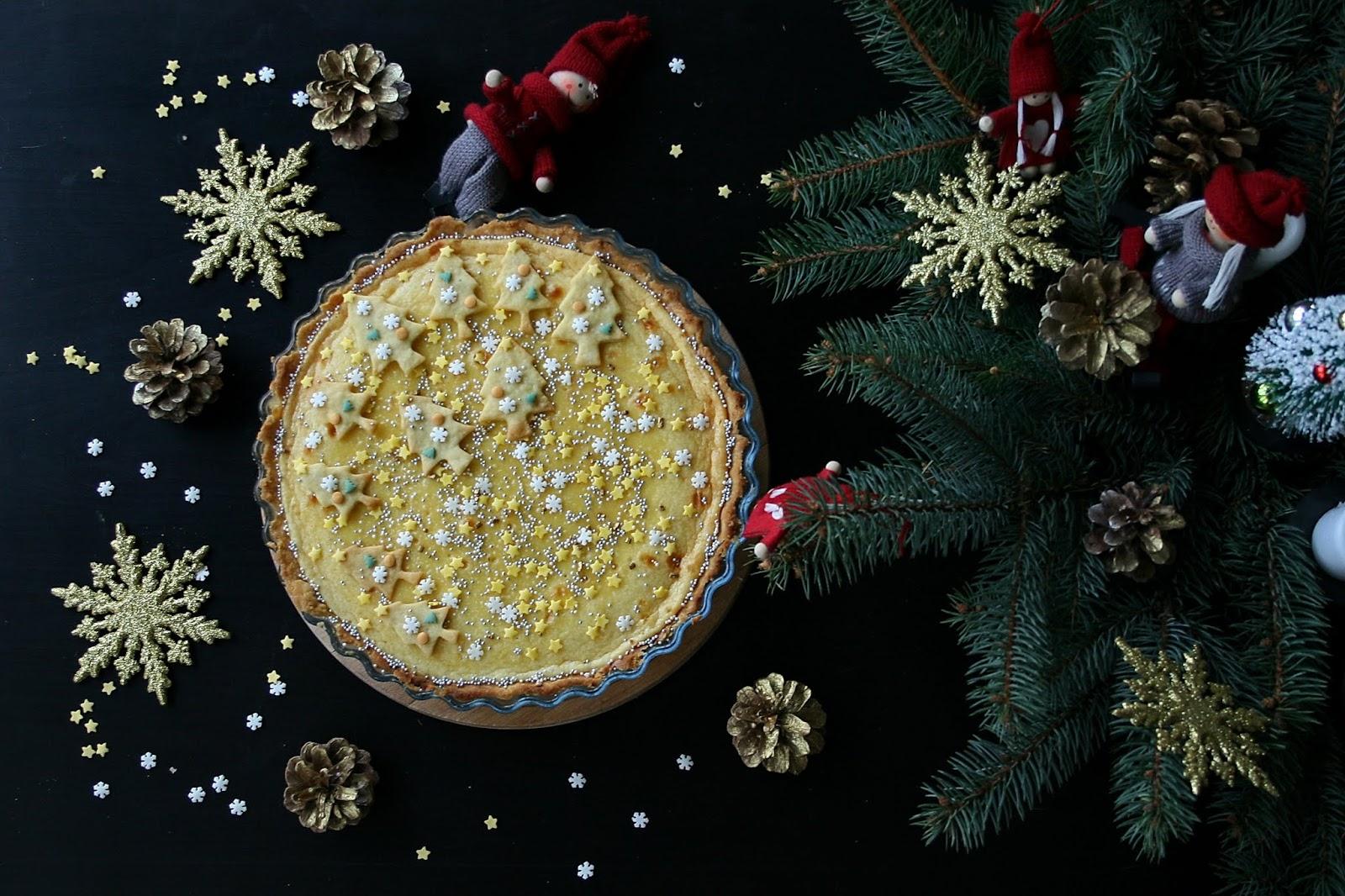 Tarta – świąteczny sernik z mascarpone o smaku chałwy