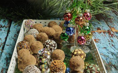 Świąteczne kuleczki bakaliowe