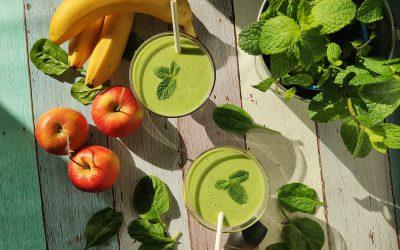 Koktajl warzywno owocowy – zielono mi