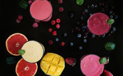 TĘCZA OWOCOWA – koktajle owocowo jogurtowe