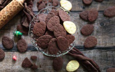 Jajeczka – ciasteczka kakaowe