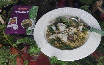 Kremowe risotto z leśnych grzybów